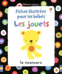 Fiches illustrées pour les bébés : les jouets
