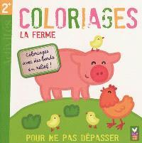 La ferme : coloriages