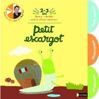 Le cahier d'éveil de mes 2-3 ans : petit escargot