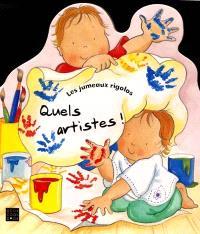 Les jumeaux rigolos. Volume 2, Quels artistes !