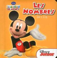 Les nombres de 1 à 16 : la maison de Mickey
