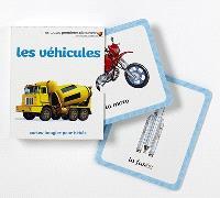 Les véhicules : cartes-imagier pour bébés
