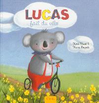 Lucas le petit koala, Lucas fait du vélo