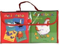 Ma valise Imagidoux : 2 livres imagiers + 1 jeu de méli mélo de 40 cartes
