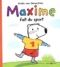 Maxime fait du sport