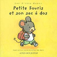 Petite souris et son sac à dos