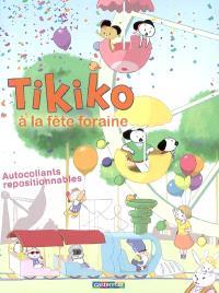 Tikiko à la fête foraine : autocollants repositionnables