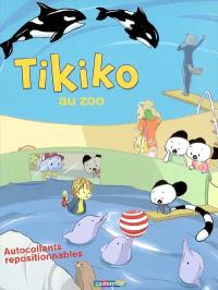 Tikiko au zoo : autocollants repositionnables
