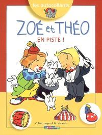 Zoé et Théo en piste !