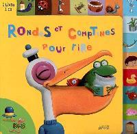 Rondes et comptines pour rire : 1 livre 1 CD
