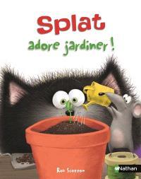 Splat le chat. Volume 14, Splat adore jardiner !