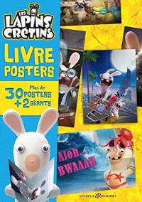 Les lapins crétins : livre posters