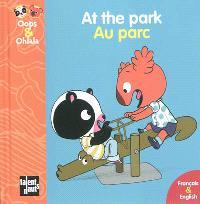 At the park = Au parc