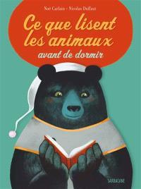 Ce que lisent les animaux avant de dormir