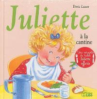 Juliette à la cantine