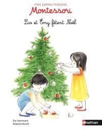 Liv et Emy fêtent Noël
