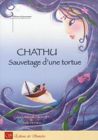 Chathu : sauvetage d'une tortue