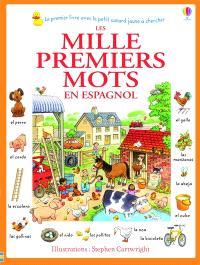 Les mille premiers mots : en espagnol