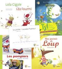 La petite bibliothèque de Tyl : pack 5 livres
