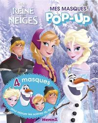 La reine des neiges : mes masques pop-up
