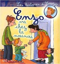 Les histoires d'Enzo. Volume 4, Enzo va chez la nounou