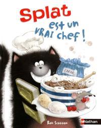 Splat le chat. Volume 4, Splat est un vrai chef !