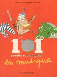 101 poésies et comptines en musique