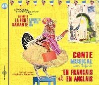 Antoinette la poule savante : conte musical pour enfants en français et en anglais