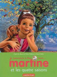 Je commence à lire avec Martine. Volume 52, Martine et les quatre saisons