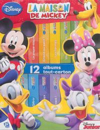 La maison de Mickey : 12 albums tout-carton
