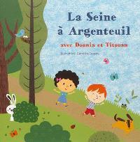 La Seine à Argenteuil avec Dounia et Titouan