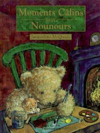 Moments câlins avec nounours