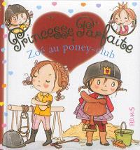 Zoé au poney-club