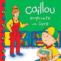 Caillou emprunte un livre