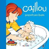 Caillou prend son bain