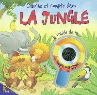 Cherche et compte dans la jungle : à l'aide de la loupe magique
