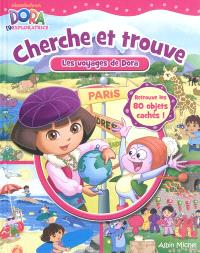 Cherche et trouve : les voyages de Dora