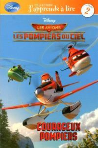 Disney Les avions Les pompiers du ciel, Courageux pompiers