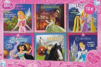 Disney princesses : 12 livres, histoires + coloriages