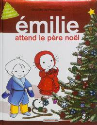 Emilie attend le Père Noël