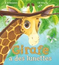 Girafe a des lunettes