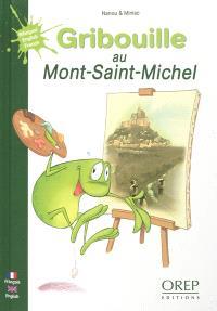 Gribouille au Mont-Saint-Michel