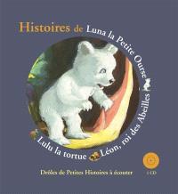 Histoires de Luna la petite ourse, Léon, roi des abeilles, Lulu la tortue