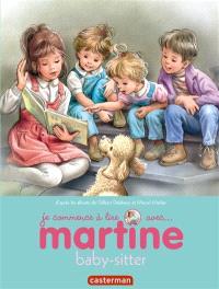 Je commence à lire avec Martine. Volume 38, Martine baby-sitter
