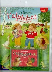 Je découvre l'alphabet avec les animaux