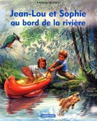 Jean-Lou et Sophie au bord de la rivière