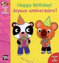 Joyeux anniversaire ! = Happy birthday !