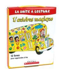 L'autobus magique  : la boîte à lecture : 12 livres pour apprendre à lire