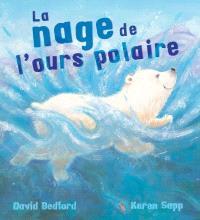 La nage de l'ours polaire