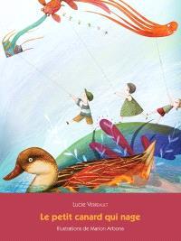 Le petit canard qui nage